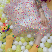 Load image into Gallery viewer, Pastel Candy Spot Maxi Skirt SP14010