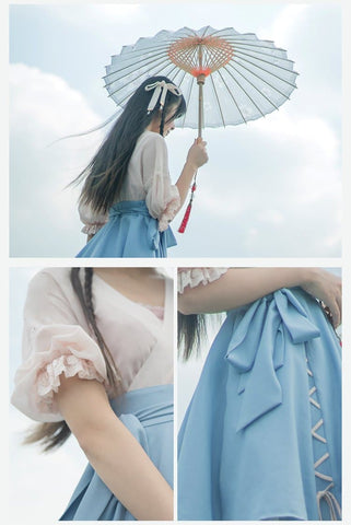 Pastel Chinese Style Dress SP1710285