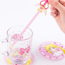 Load image into Gallery viewer, Pastel Sailor Moon Luna Coaster/Stirrer SP13549