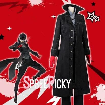 Persona 5 Joker Outfit Cosplay Costume SP1711406