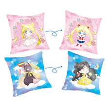 Load image into Gallery viewer, Pink/Blue Sailor Moon Luna Double-Sided Pillow Case SP14233 - SpreePicky FreeShipping