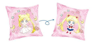 Pink/Blue Sailor Moon Luna Double-Sided Pillow Case SP14233 - SpreePicky FreeShipping