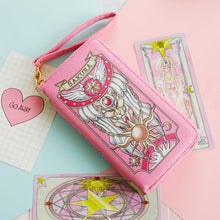 Load image into Gallery viewer, 2 Colors Card Captor Sakura Magic Book Hand Bag Purse Can Pack Phone SP152282