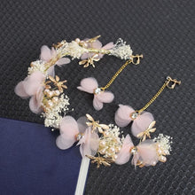 Load image into Gallery viewer, Pink/White Elegant Babysbreath Flower Headband SP1711049