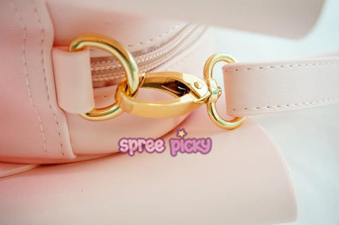 Pink Bowknot Cross Body Bag SP167099
