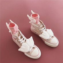 Load image into Gallery viewer, Pink Cardcaptor Sakura Wings Canvas Shoes SP14364 - SpreePicky FreeShipping