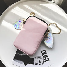 Load image into Gallery viewer, Pink Game over Hologram Cross Body Bag SP1710754