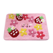 Load image into Gallery viewer, Pink Kawaii Flower Strawberry Rug SP14225 - SpreePicky FreeShipping
