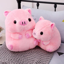 Load image into Gallery viewer, Pink Kawaii Plush Pig Doll SP13992