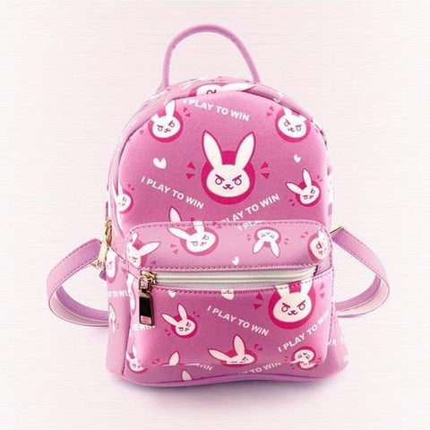 Pink Overwatch D.VA Backpack SP178766
