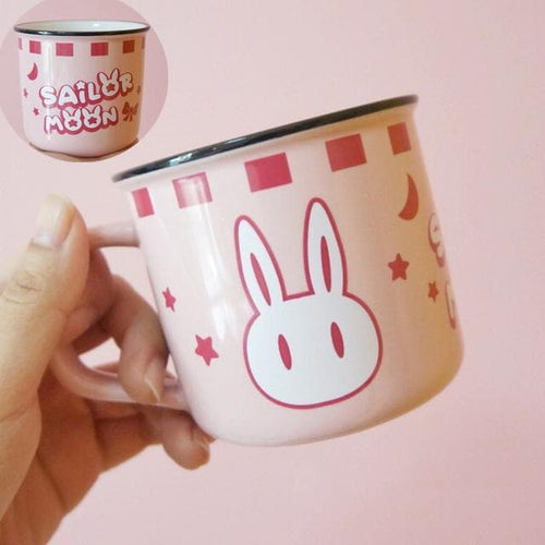 Pink Sailor Moon Bunny Mug SP14429