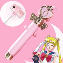 Load image into Gallery viewer, Pink Sailor Moon Meitu Selfie Stick SP14039