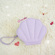 Load image into Gallery viewer, Purple/Green/Pink/Black/White Lolita Mermaid Sea Shell Bag Cross Body Bag SP130290