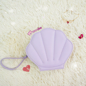 Purple/Green/Pink/Black/White Lolita Mermaid Sea Shell Bag Cross Body Bag SP130290