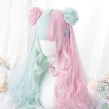 Load image into Gallery viewer, Macaron Lolita long curly hair SP163