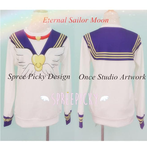 Eternal Sailor Moon Jumper Tsukino Usagi Sweatershirt SP141481 - SpreePicky  - 1