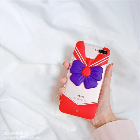 Red/Blue Sailor Moon IPhone Phone Case SP1711105