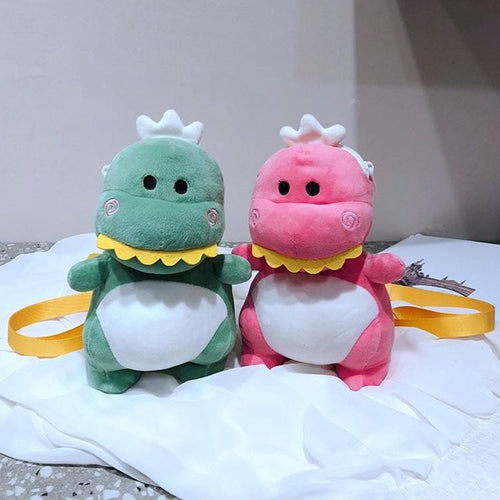 Red/Green Kawaii Dinosaur Cross Body Bag SP13927