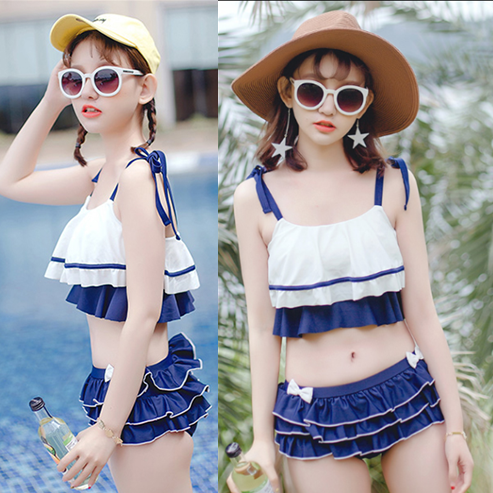 Red/Blue Bowknot Bikini Set SP1710169
