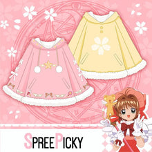 Load image into Gallery viewer, Cardcaptor Sakura Hoodie Poncho SP1811798