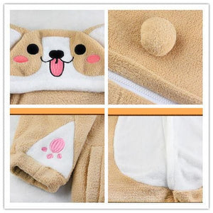 [Reservation] Corgi Kigu Plush Homewear Pajamas SP1711119