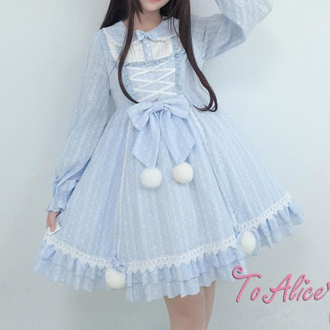 [Reservation] Fluffy Polar Bear Lolita Dress/Coat SP1711360
