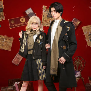[Reservation] Harry Potter Hogwarts Hufflepuff Cosplay Costume SP13260
