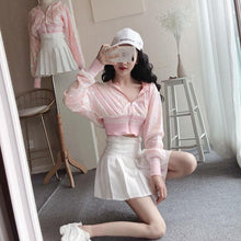 Load image into Gallery viewer, [Reservation] Pink Paillette Short Sport Hoodie Coat SP13495