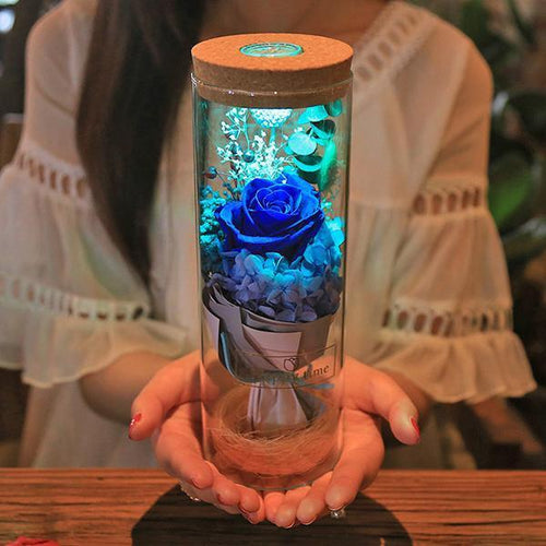 Rose Bottle Lamp SP14102