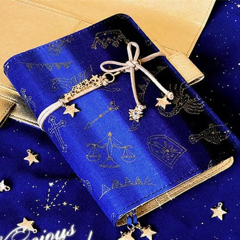 Royal Blue Galaxy Diary Notebook  SP1710671