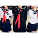 S-XL 3 colors Sailor Seifuku School Uniform Set SP153570