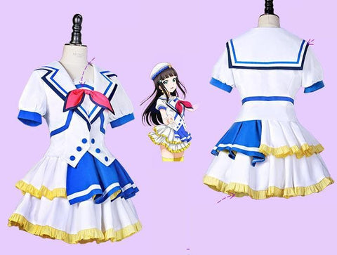 S-XL Custom Made Lovelive Sunshine Jumping Heart Cosplay Costume SP168091