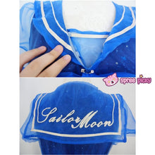 Load image into Gallery viewer, S-XL Dreamy Sailor Moon Organza Sailor Collar OP Dress Few Stock SP141133 - SpreePicky  - 5