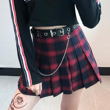 Load image into Gallery viewer, Gothic Punk Harajuku Pleated Skirt S13086
