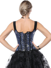 Load image into Gallery viewer, Halloween Steampunk Dragon Pattern Corset SP14331