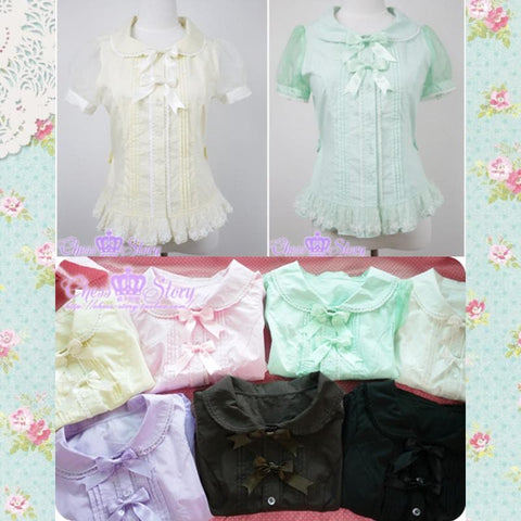 Chess Story Pastel Cute Lolita Blouse SP130128