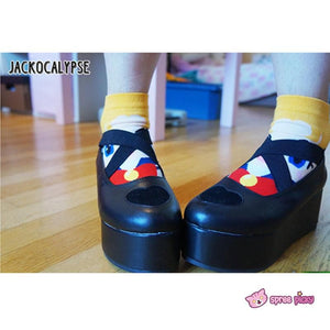 J-Fashion Harajuku Lolita Comfortable Low-cut Platform Shoes SP130167 - SpreePicky  - 6