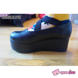 J-Fashion Harajuku Lolita Comfortable Low-cut Platform Shoes SP130167 - SpreePicky  - 8