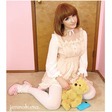 Load image into Gallery viewer, Lolita Princess Knotbow Flouncing Long Sleeve Doll Dress SP140664 - SpreePicky  - 1