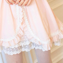 Load image into Gallery viewer, Lolita Princess Knotbow Flouncing Long Sleeve Doll Dress SP140664 - SpreePicky  - 4