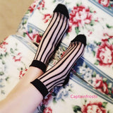 [3 For 2] 4 Colors Lolita Ankle Silk Socks SP140690 - SpreePicky  - 3