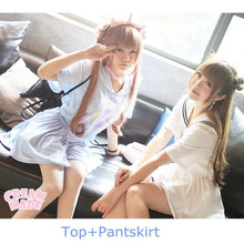 Load image into Gallery viewer, Sailor Moon Wake Up Jumper + Pantskirt 2 PCS Set SP140926 - SpreePicky  - 2
