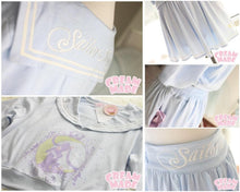 Load image into Gallery viewer, Sailor Moon Wake Up Jumper + Pantskirt 2 PCS Set SP140926 - SpreePicky  - 3