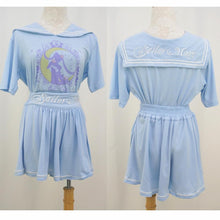Load image into Gallery viewer, Sailor Moon Wake Up Jumper + Pantskirt 2 PCS Set SP140926 - SpreePicky  - 5