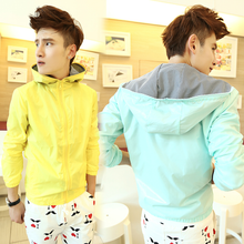 Load image into Gallery viewer, Unisex/Couple Jacket Macaron Colors Hoodie Jacket Coat SP141522 - SpreePicky  - 1