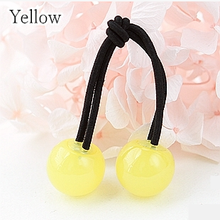 Load image into Gallery viewer, [12 Colors] Candy Colors Jelly Balls Hair Ring 2 Pieces SP151665 - SpreePicky  - 2