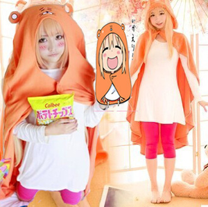 [Himouto! Umaru-chan] Cutie Home Wear Hoodie Cape/T-shirt/Pants SP153566
