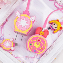 Load image into Gallery viewer, Sailor Moon/Cardcaptor Sakura Phone Charger SP13179