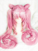 Load image into Gallery viewer, [Sailor Moon] Chibi Moon Black Lady Long Pink Wig SP153571