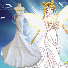 Load image into Gallery viewer, Sailor Moon Cosplay Costume Princess Serenity Dress Tsukino Usagi Costume SP13242